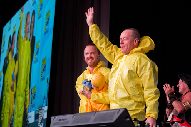 Breaking Bad at Comicon 2012