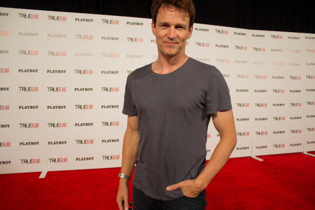 Stephen Moyer at Playboy's Comic Con Party, 2012