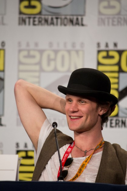 Matt Smith at Comic Con 2012