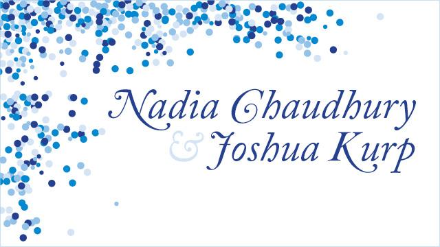 Nadia & Josh's Wedding