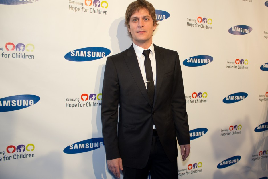 Rob Thomas at  Samsung Hope for Children