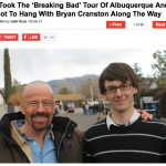 Uproxx: I Took The 'Breaking Bad' Tour Of Albuquerque And Got To Hang With Bryan Cranston Along The Way