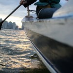 Rowing in the Hudson River