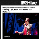 MTV Hive: GoogaMooga Shines Before the Storm: Flaming Lips, Yeah Yeah Yeahs, the Darkness