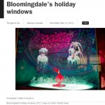 Time Out New York: Bloomingdale's Holiday Windows 2012