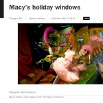 Time Out New York: Macy's Holiday Windows 2012