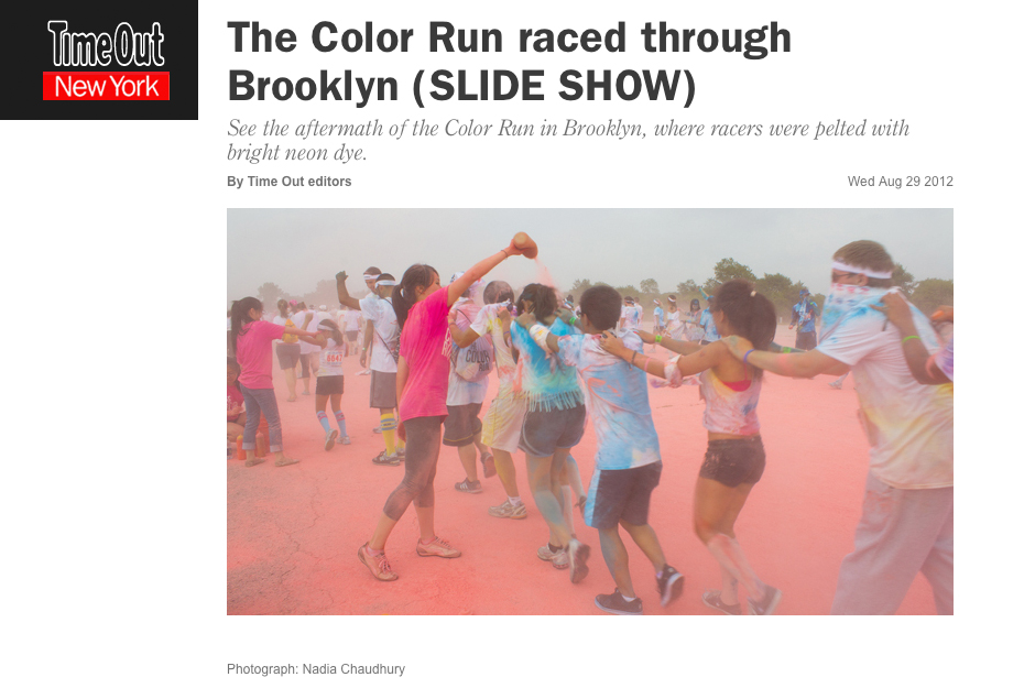 Time Out New York: The Color Run Raced Through Brooklyn