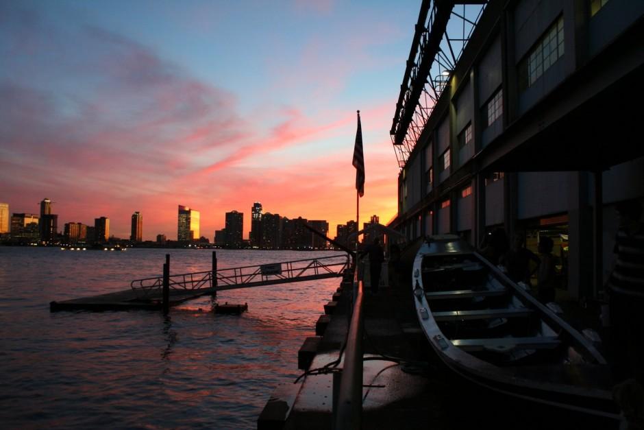 Pier 40 Sunset